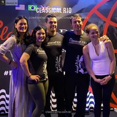 Congresso Classical Rio 2020 com Leilane Blossom, Erica Almodovar, Erica Almodovar, Rafael Iazpeck, Mauro Busti e Alexandra Bohlinger, Rio de Janeiro - RJ, 2020