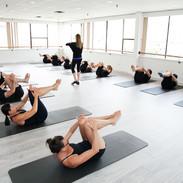 Aula de Mat Pilates