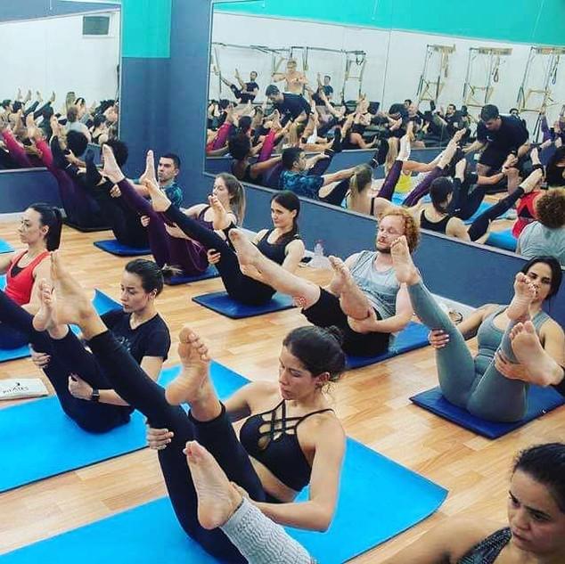 Aula de Mat - WS internacional de Pilates Clássico