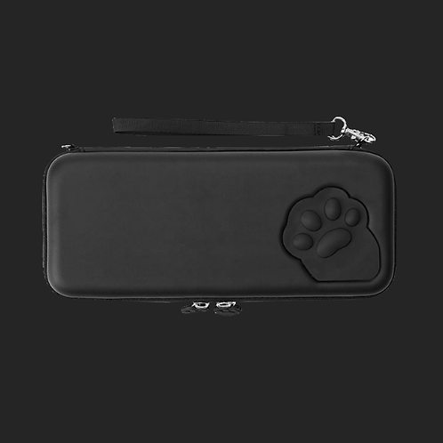 Paw Pouch for Nintendo Switch BLACK