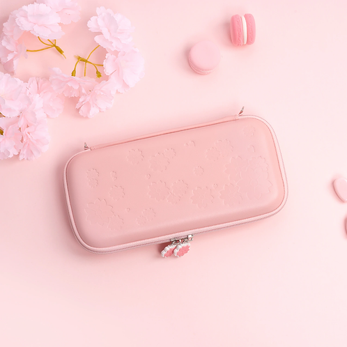 Sakura Pouch for the Nintendo Switch PINK