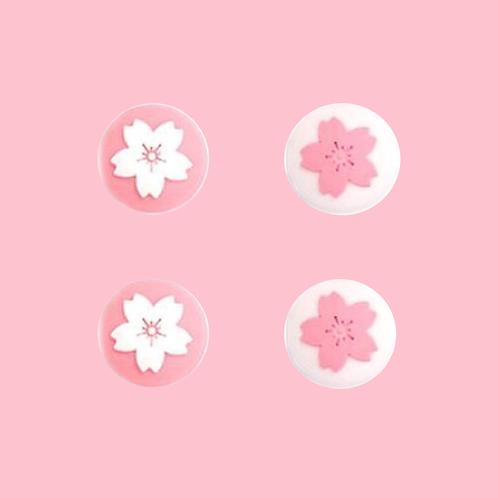 Sakura Joycon Thumb Grips