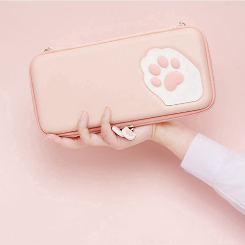 Paw Pouch for Nintendo Switch PINK