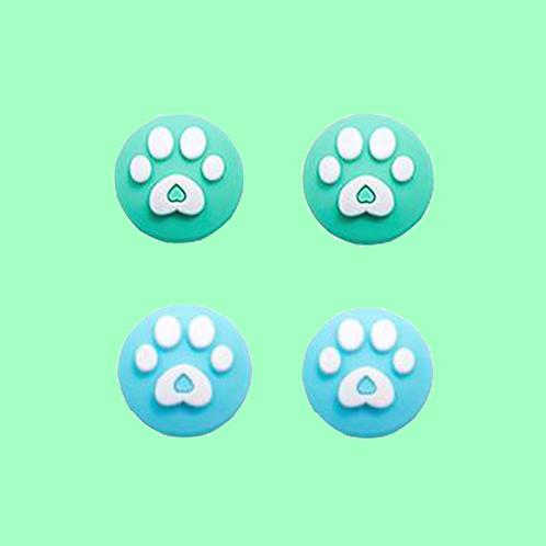 Animal Crossing Joycon Thumb Grips BLUE/GREEN