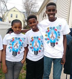 Donovan and siblings