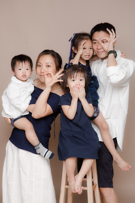 Family Studio | 家庭照影樓拍攝