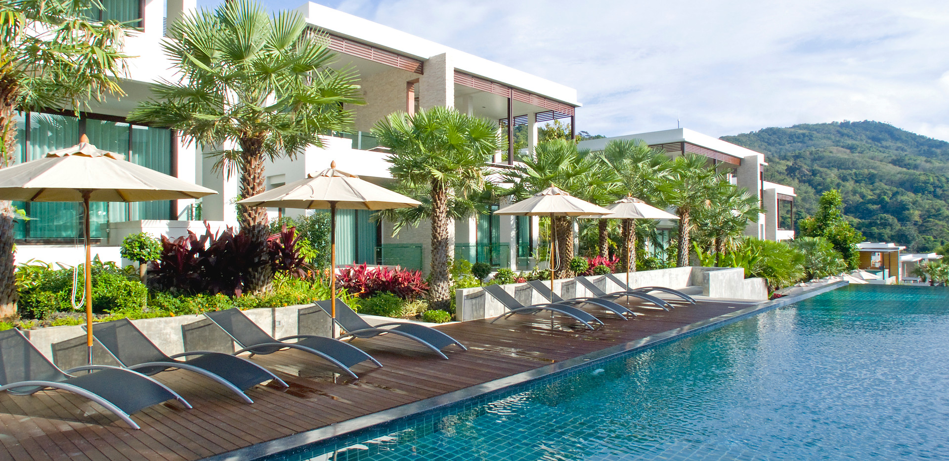 Pool at Wyndham Sea Pearl Resort Phuket
