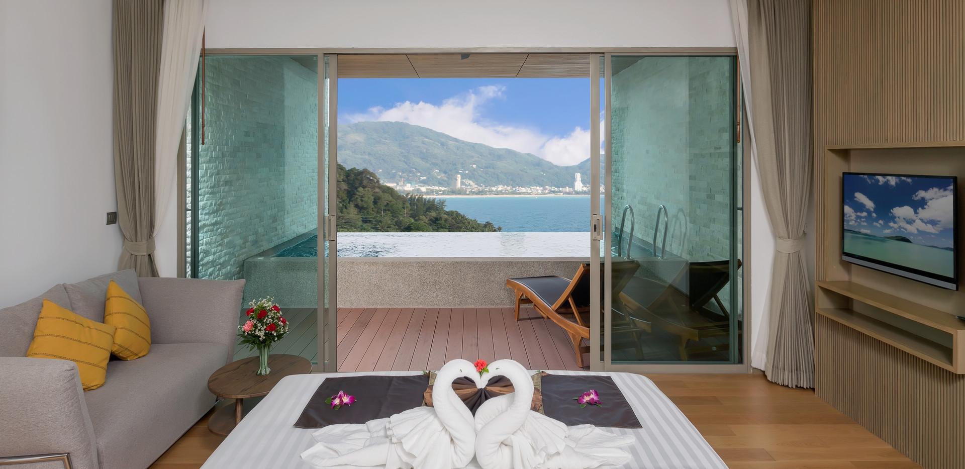 Private Pool Suite Panoramic Ocean Vi