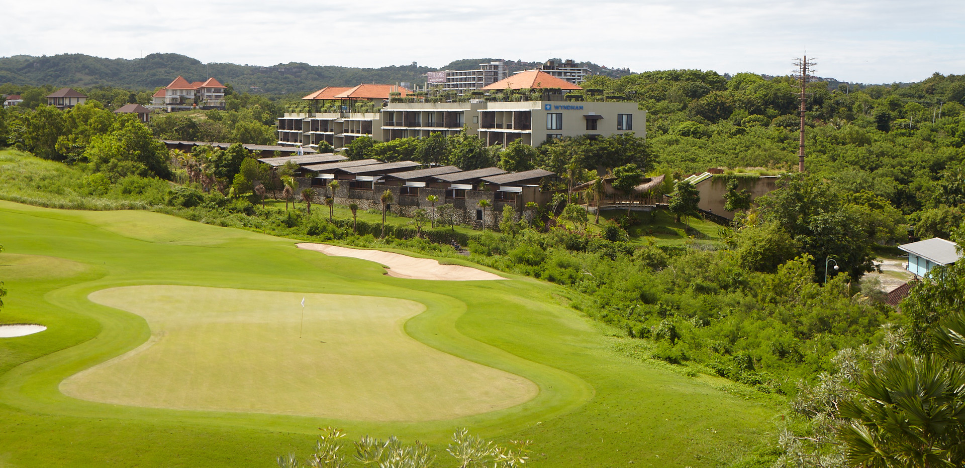 Golf Course - Wyndham Dreamland Resort Bali