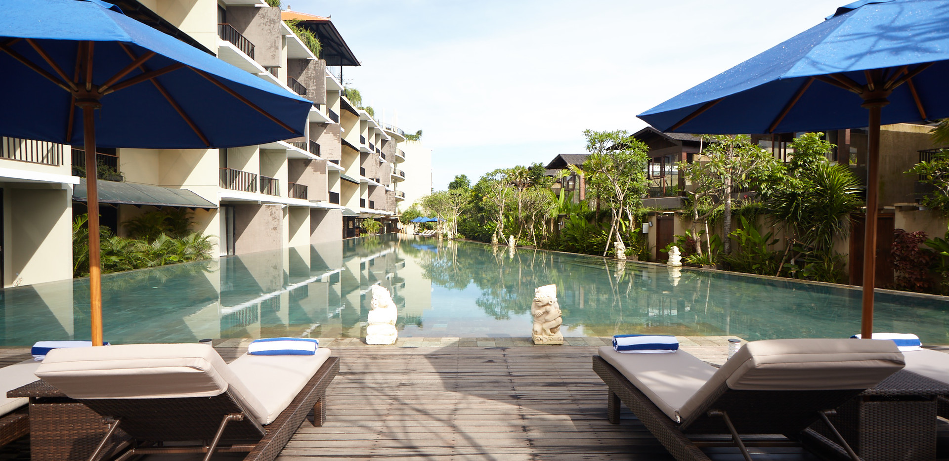 Swimming Pool - Wyndham Dreamland Resort Bali