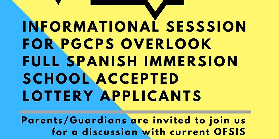 Accepted Lottery Application Informational Session