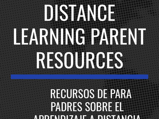 PGCPS Parent Support Page for Distance Learning.