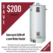 Water Heater Coupon