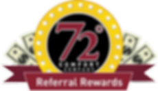 72 Degrees Referral Rewards Logo