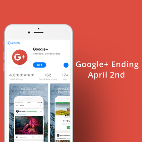 Google Plus Officially Ending April 2nd