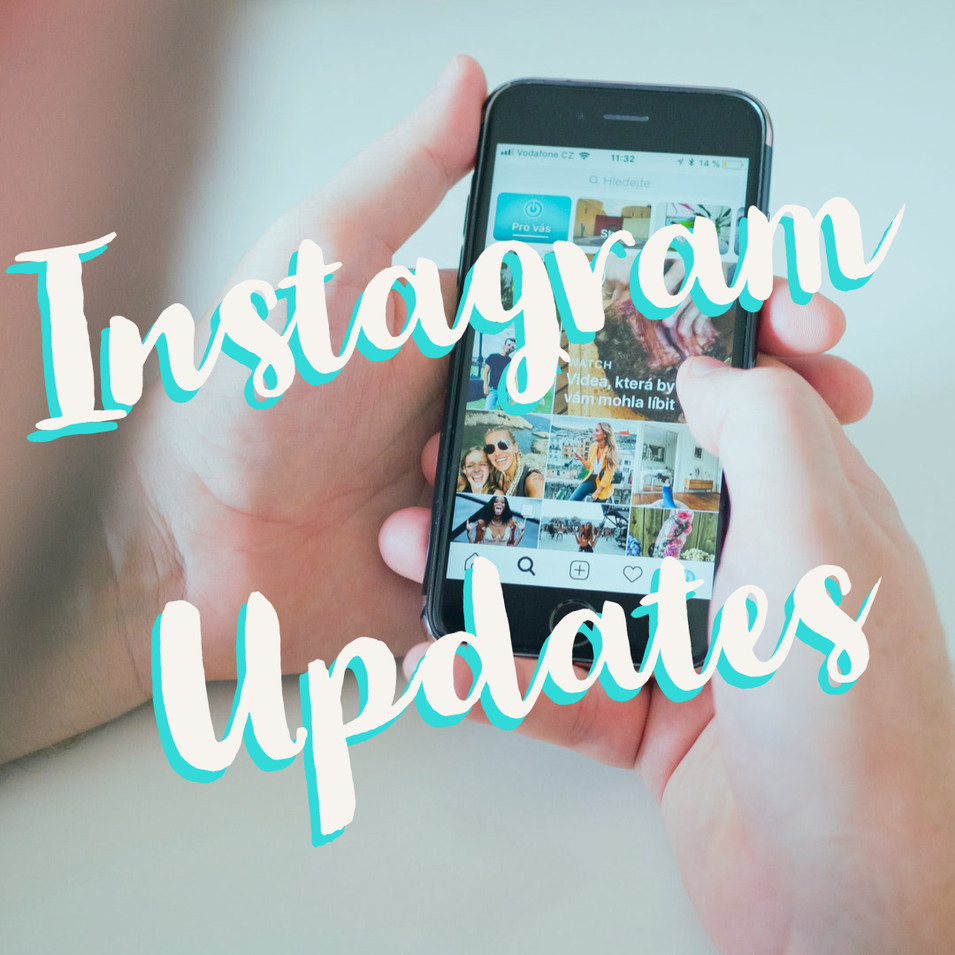 2019 Instagram Updates