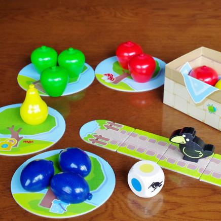 2才から遊べるボードゲーム「はじめてのゲーム 果樹園」