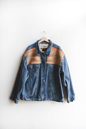 "Jacket 33 - Diné Blanket ""Desert Sunset"""