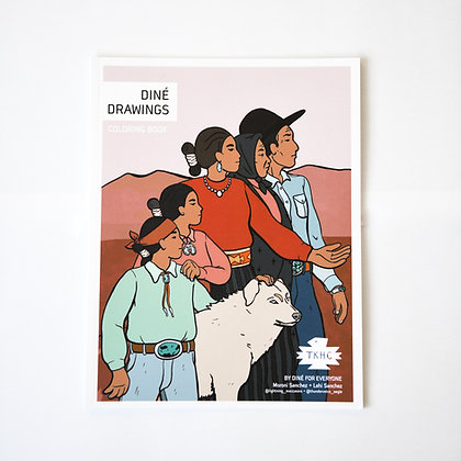 Diné Drawings Coloring Book