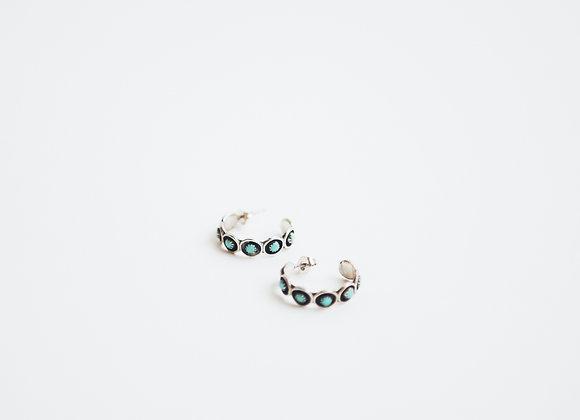 Row of 7 Earrings