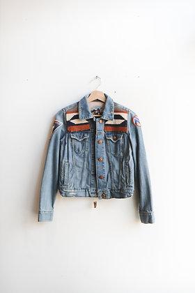Jacket 34 - Diné Blanket Fletching Design
