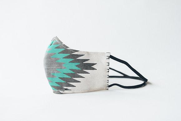 Turquoise Ridge Mask