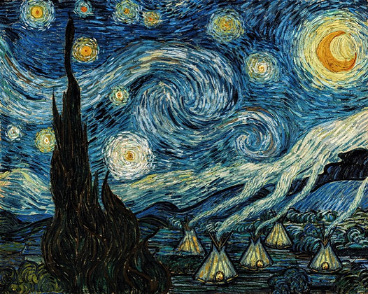Starry Night 1491 (Edition Prints)