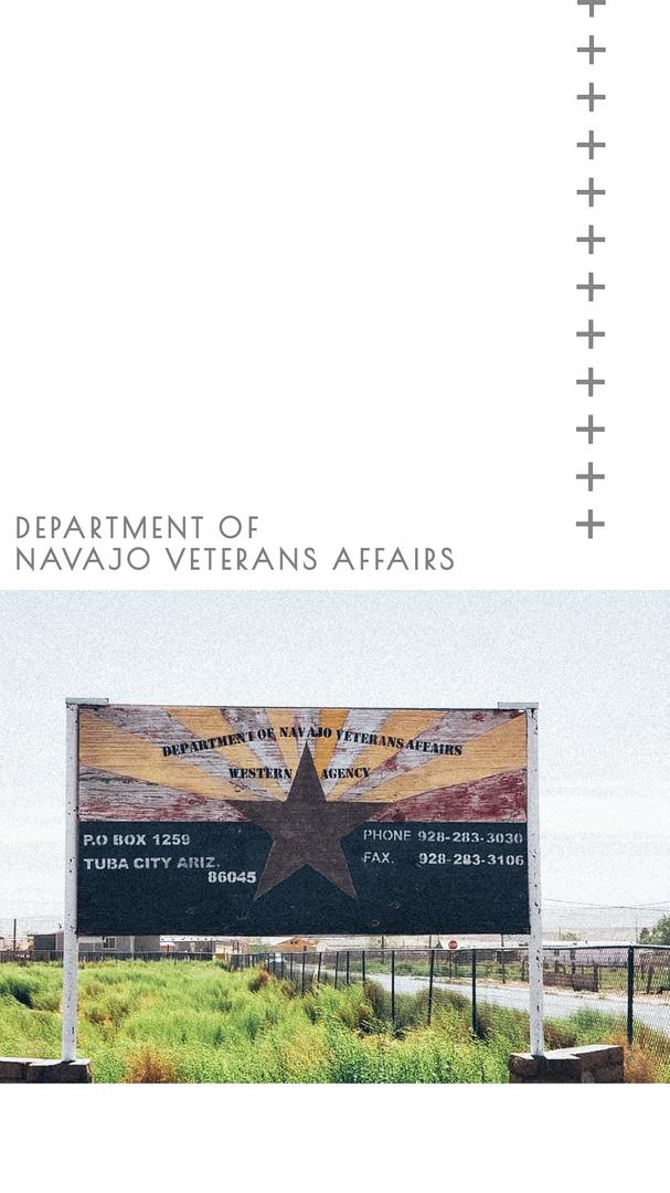 Department of NAVAJO Veterns