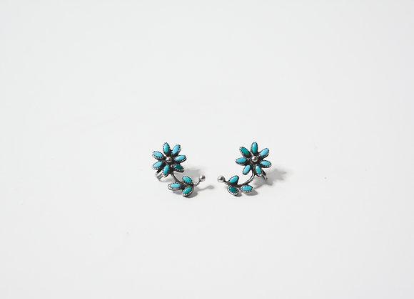 Zuni Petit Point Flower Earrings