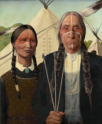Native American Gothic (Edition and Signed)