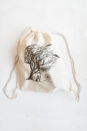 Sacred Sage Drawstring Bag