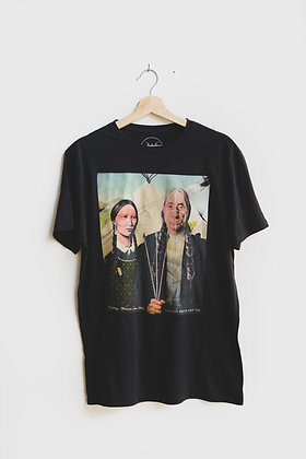 Vintage Style Native American Gothic Shirt
