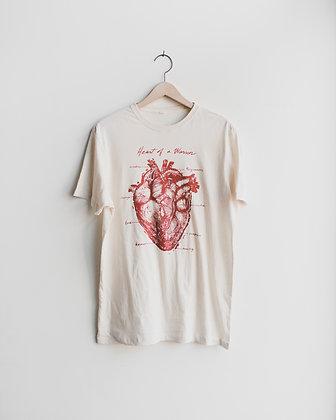 Heart of a Warrior T Shirt
