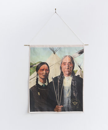 Native American Gothic Flag