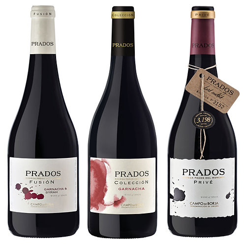 "Pack ""Prados Fusión"" 3 botellas"