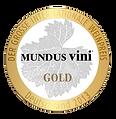 Vino medalla de oro Mundus Vini