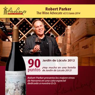 Los elegidos de PARKER / PARKER's picks from Navarra