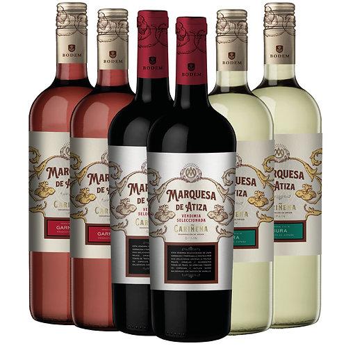 Pack 6 vinos Marquesa de Atiza