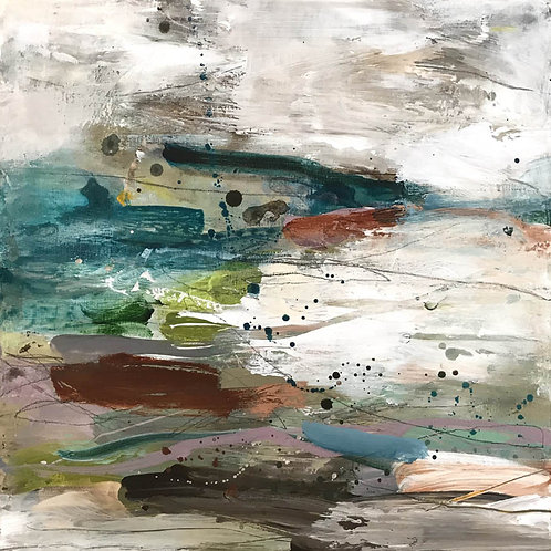 Glass Beach Painting