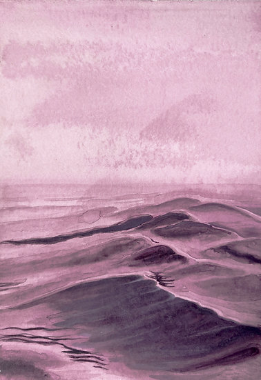 BETWEEN THE SEA AND THE SAND, 17*11,5 cm