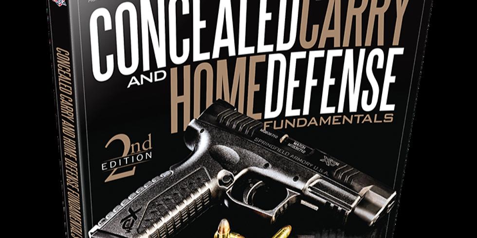 USCCA Concealed Carry & Self-Defense Fundamentals - October 23 & 24, 2021
