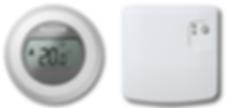 Thermostat Honeywell T87RF, Module relais honeywell BDR91