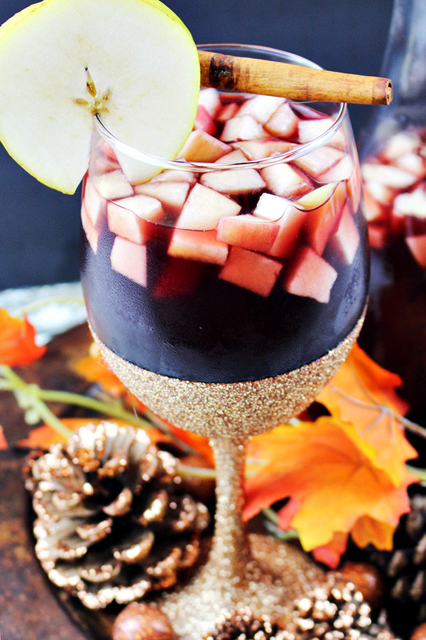 Autumn Apple & Pear Sangria