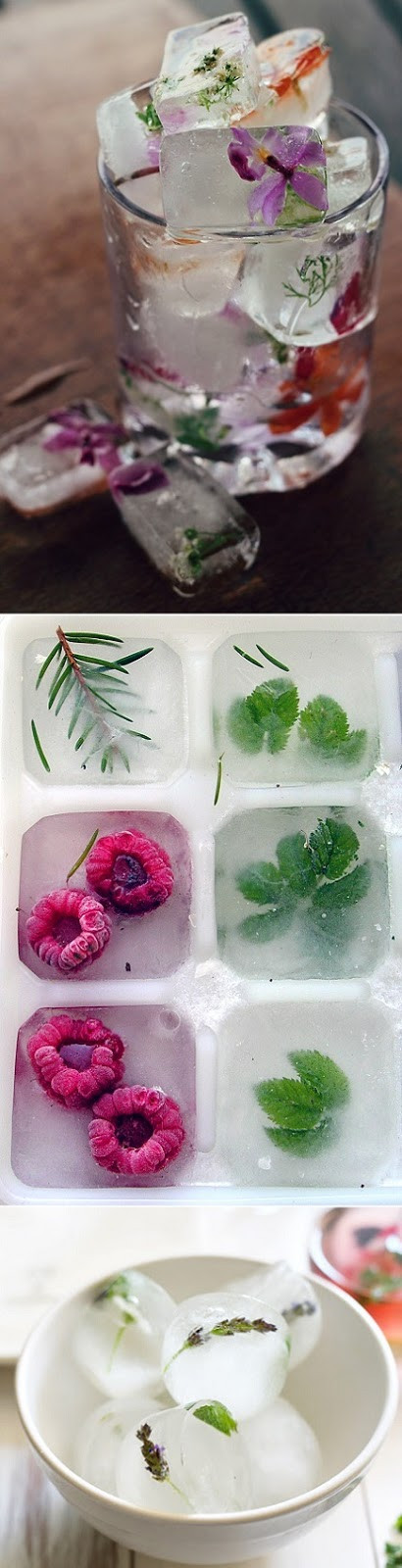 fancy ice cubes