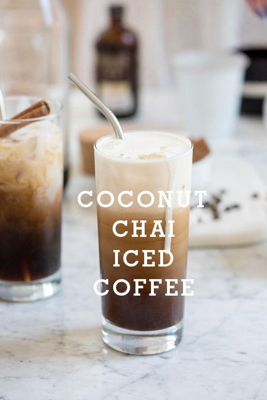 Coconut Chai Iced Coffee