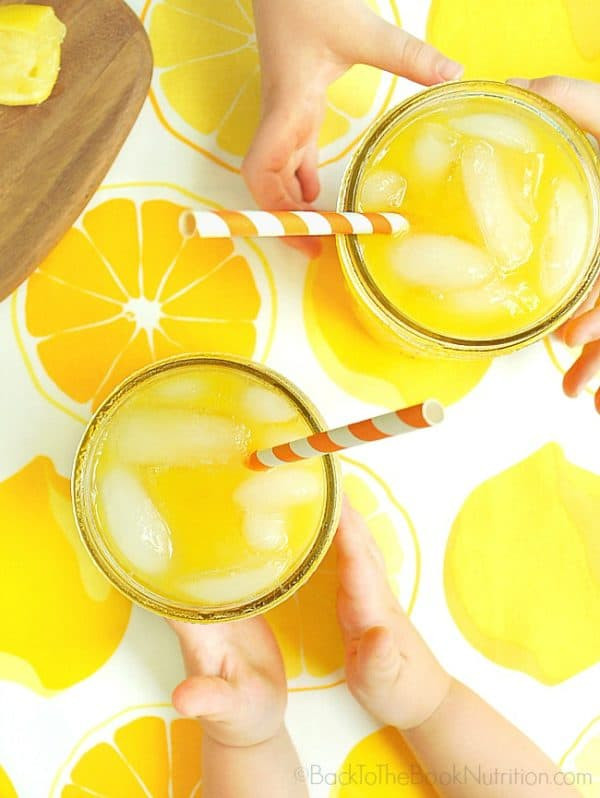 All Natural Mango Lemonade