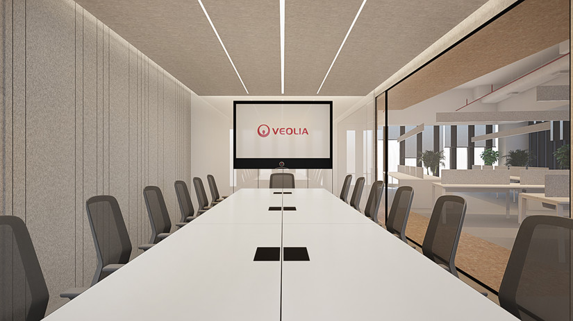 Front view Boardroom Veolia