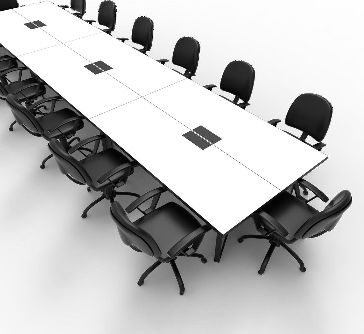 FLEXIBLE BOARDROOM TABLE