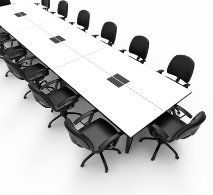 FLEXIBLE BOARDROOM TABLE