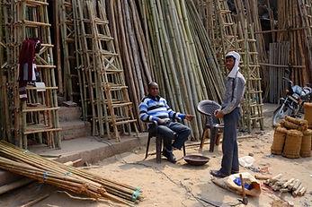 Govindpuri construction market
